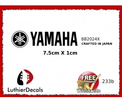 Yamaha Guitar Decal #233b